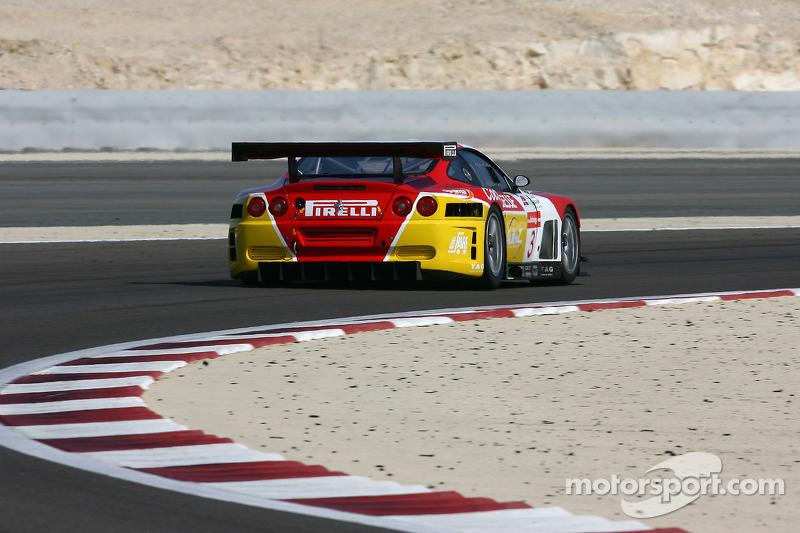 #3 G.P.C. Sport Ferrari 575 Maranello GTC: Andrea Montermini, Marco Cioci
