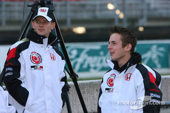 Anthony Davidson and James Rossiter