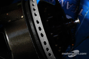 Disc brake on the Renault