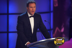 NASCAR Nextel Cup Awards Banquet at the Waldorf Astoria Hotel: Will Ferrell on stage