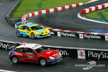 Superfinal 2: Tom Kristensen and Sbastien Loeb