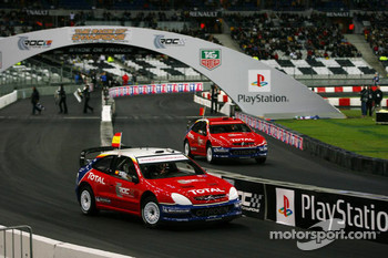 Quarter final: Daniel Sordo and Franois Duval