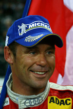 Nations Cup 2005 winner Tom Kristensen celebrates