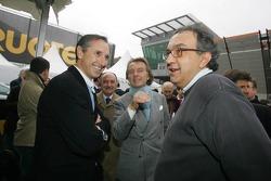 Mauro Tedeschini, Luca di Montezemelo and Sergio Marchione