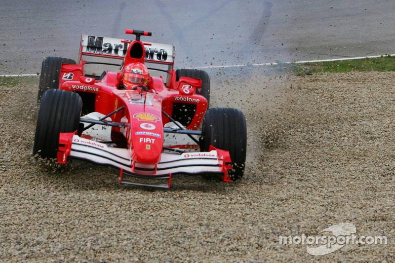 #1: Michael Schumacher abseits der Strecke