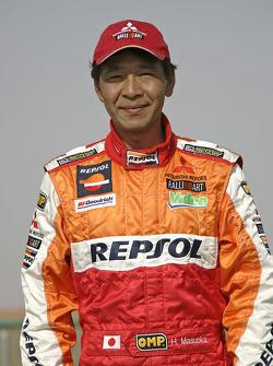 Team Repsol Mitsubishi Ralliart: Hiroshi Masuoka