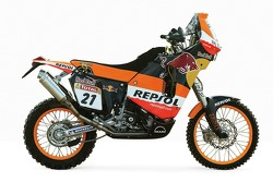 The Repsol Red Bull KTM of Jordi Viladoms