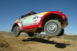 Mitsubishi Motors Repsol Team test in Vilovi D'Onyar: Nani Roma and Henri Magne