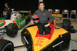 Bryan Herta in the No. 7 XM Satellite Radio Dallara Honda Firestone that he will drive in the 2006 season