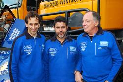 Team Gauloises Schlesser: drivers Jean-Louis Schlesser, Josep-Maria Servia and Thierry Magnaldi