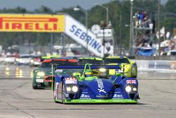 #88 Rollcentre Racing Dallara Nissan: Joao Barbosa, Didier Theys, Michael Krumm