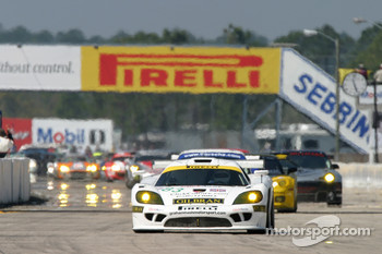 #83 Graham Nash Motorsport Saleen S7R: Rick Sutherland, Nigel Smith, Rick Cole