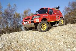 Team Rally Raid UK: the Rally Raid UK Land Rover