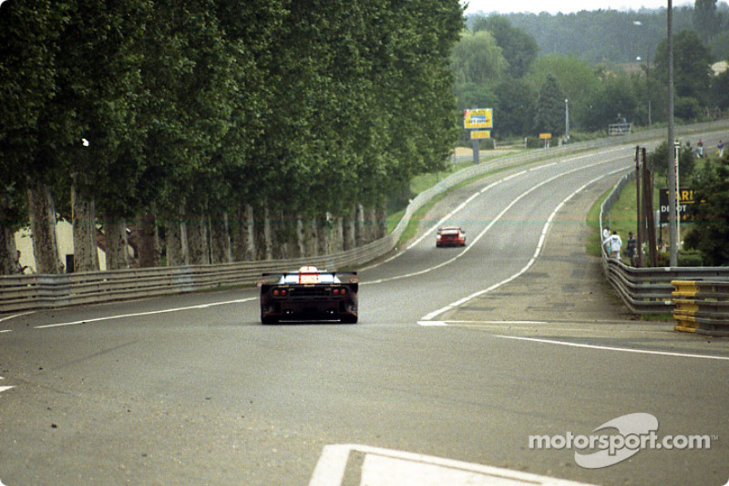 Race action at Tertre Rouge