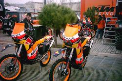 Repsol KTM bikes