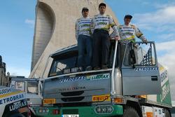 Andre De Azevedo, Jaromir Martinec and Maykel Justo