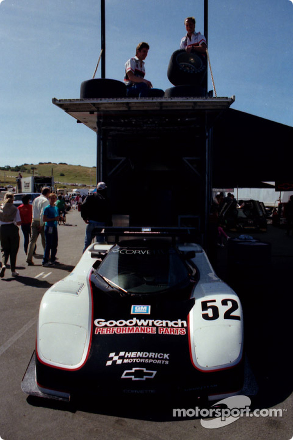 #52 Hendrick Corvette GTP: Sarel van der Merwe