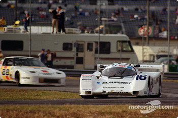 #16 Dyson Porsche 962: Rob Dyson, James Weaver, Price Cobb, Vern Schuppan