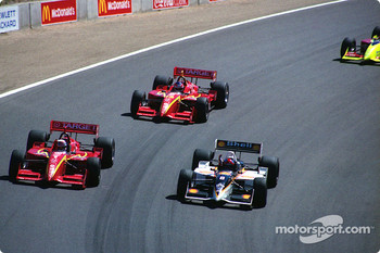 Bryan Herta, Alex Zanardi, Jimmy Vasser
