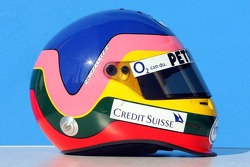 Helmet of Jacques Villeneuve