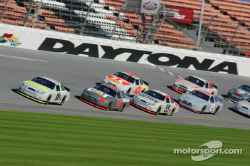 Greg Biffle leads the pack