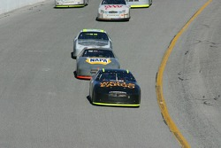 Kyle Petty leads Michael Waltrip