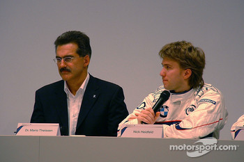 Mario Theissen and Nick Heidfeld
