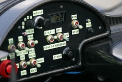 Cockpit of the Dyson Racing Lola B06/10-AER