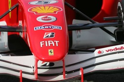 Detail of the Ferrari 248 F1