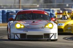Flying Lizard Motorsports Porsche 911 GT3 RSR: Lonnie Pechnik, Seth Neiman, Darren Law