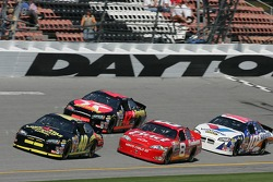 David Stremme, Dale Earnhardt Jr., Casey Mears and Scott Riggs