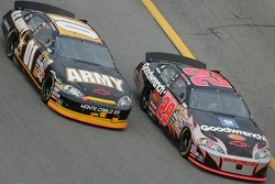 Joe Nemechek and Kevin Harvick