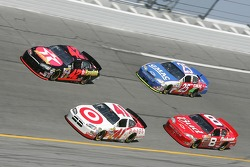 Reed Sorenson, Casey Mears, Dale Earnhardt Jr. and Brian Vickers