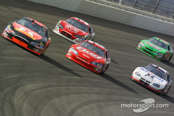 Casey Mears, Dale Earnhardt Jr., Kasey Kahne, Ryan Newman and J.J. Yeley