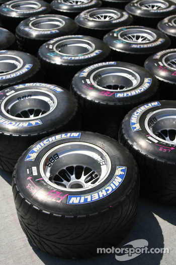 Michelin intermediate tires