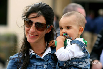 Connie Montoya and son Sebastien