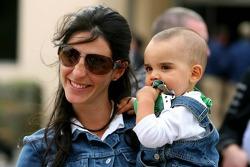 Connie Montoya and son Sebastien