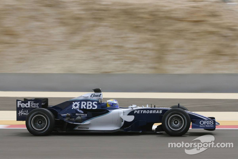 2006赛季巴林大奖赛:处子秀比赛中一鸣惊人的表现
