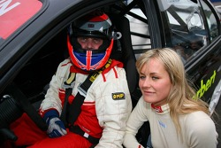 Pro celebrity race: Johnny Herbert and Emma Parker Bowles