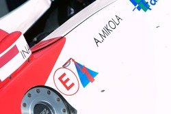 A1GP Team Indoesia racecar of Ananda Mikola