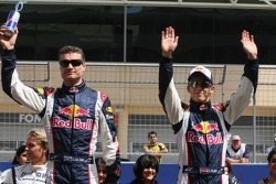 Drivers presentation: David Coulthard and Christian Klien