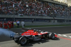 Christijan Albers on starting grid