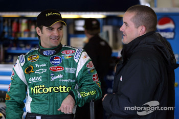 Jeff Gordon and Casey Mears
