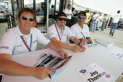 Spencer Pumpelly, Jep Thornton and Mark Patterson