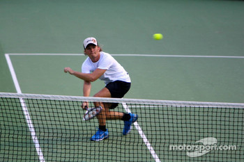 Pitstop tennis Pro-Am charity event: Nico Rosberg