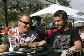 Johnny Herbert and Tiago Monteiro