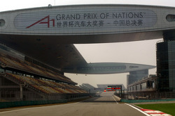 Preparations at Shanghai International Circuit