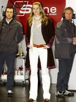 Eve Scheer girlfriend of Frank Stippler and German actrice
