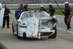 Damage to Max Papis car