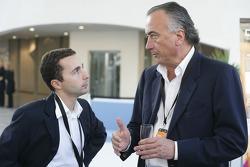 Trident owner Maurizio Salvadori with Nicolas Todt